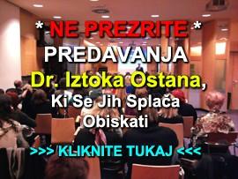 Seznam predavanj dr.Iztoka Ostana