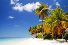Rajska plaža na Maldivih